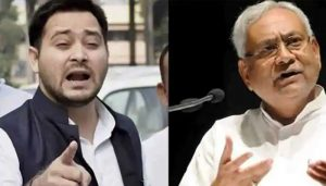He is son of my friend that's why I'm tolerating him: Nitish shouts at Tejashwi