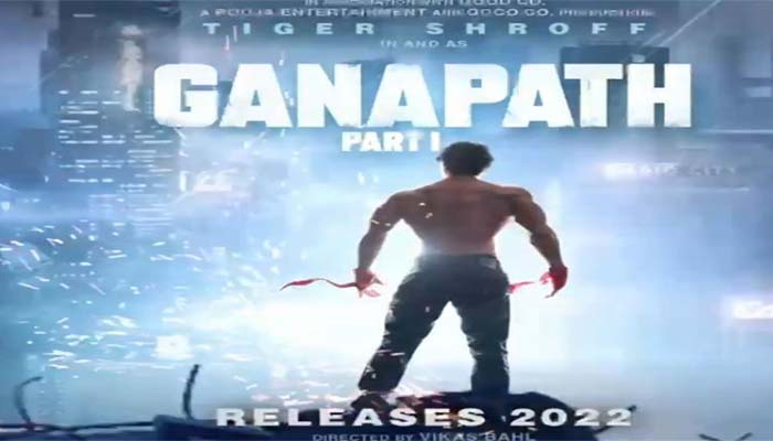 Tiger Shroff shares intriguing teaser poster of his action entertainer Ganapath