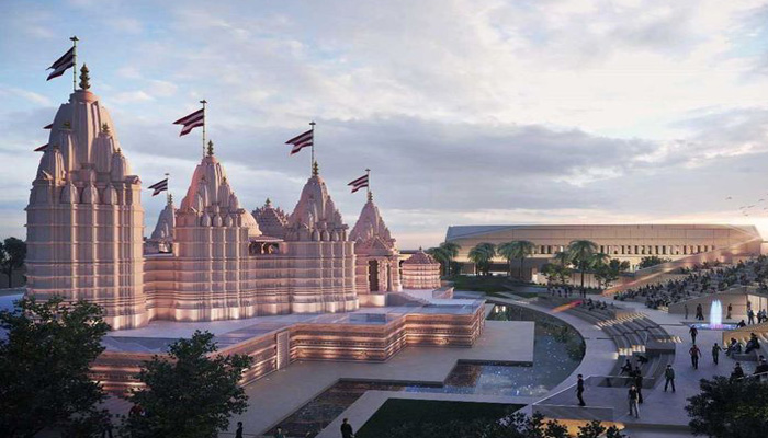 Pictures of Final design of Hindu Temple in Abu Dhabi released