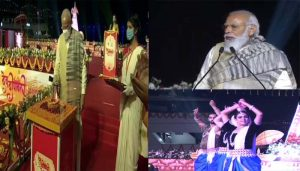 Modi chants 'Har Har Mahadev', attacks opposition during Dev Deepawali speech