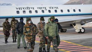Army Chief Mukund Naravane reviews situation along LAC in Leh
