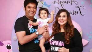 Kapil Sharma shares adorable PHOTOS of his daughter Anayra dressed as Santa