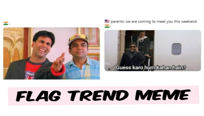 US vs India: Hilarious Flag Trend Memes, a perfect start to 2021
