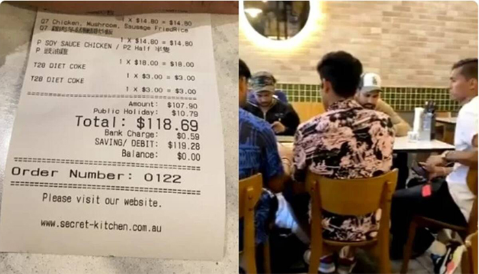 Fan spots Indian cricketers in Melbourne restaurant, quietly pays their bill