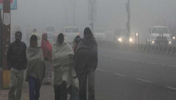 Cold wave conditions over North India; Air quality also worsens in UP