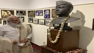PM Modi in Kolkata, says 'India bows to the great Netaji Subhas Chandra Bose'
