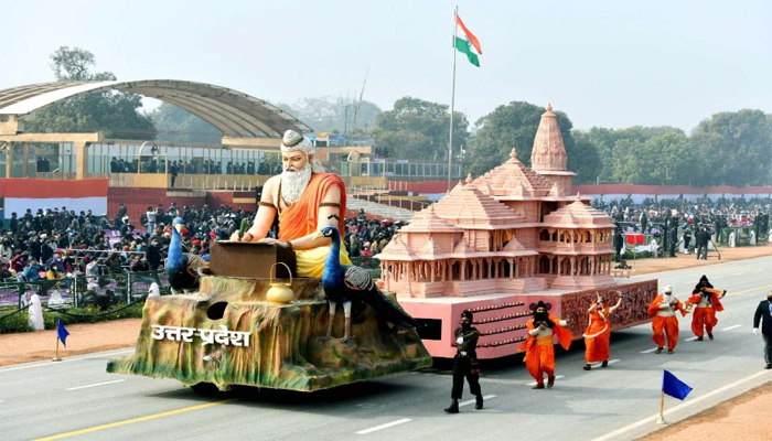 UPs Republic Day Tableau Bags First Prize; CM Yogi Lauds People
