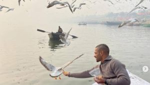 Shikhar Dhawan's picture puts boatman in trouble