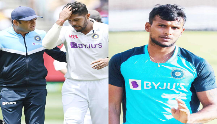 IND vs AUS: T Natarajan roped in, Rohit Sharma as vice-captain in India's Test squad