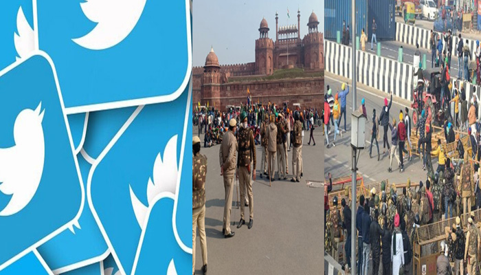 Twitter suspends 500 accounts after Violence in R-Day Tractor Rally
