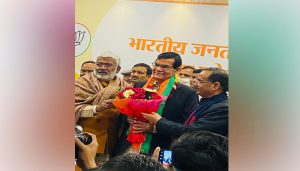 Former bureaucrat Arvind Sharma joins BJP, buzz over his role in UP politics