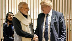 UK PM Boris Johnson invites PM Modi in G-7 Summit