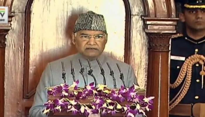 Budget Session: Constitution gives us right to freedom of expression- President