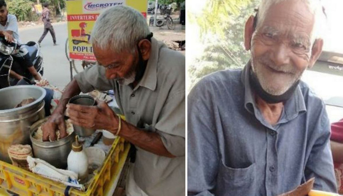 Raebareli: This Mans Only Source of Income is selling Chana