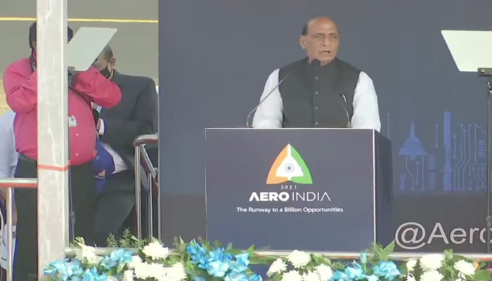 Aero India 2021: HAL gets contract of TEJAS, What Rajanth Singh said?