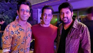 Good News! Salman trying his best in bringing Kapil and Sunil Grover together