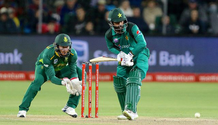 Pakistan beat South Africa by three runs in 1st T20I