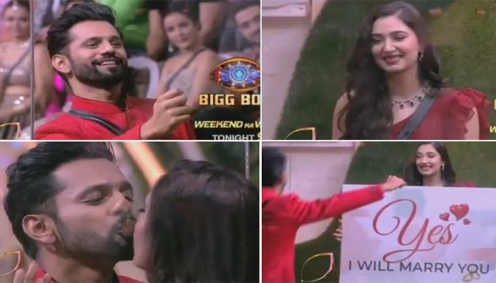 Valentines Day in BB14: Jasmin-Aly dances on special song; Rakhi gives black rose to Rubina