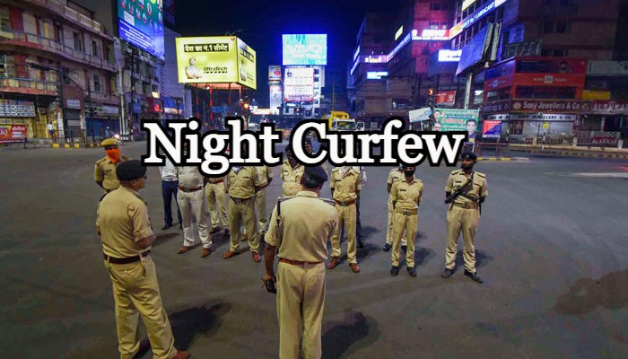 Night Curfew in MPs Indore-Bhopal from today; Read Guidelines!