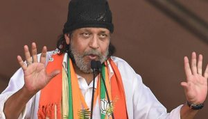 Mithun Chakraborty gives befitting reply to opposition as he joins BJP