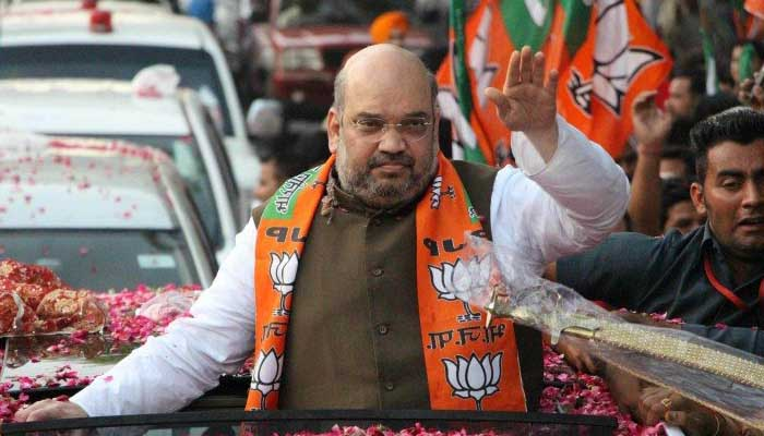 Shah also said that Congress' alliance with Badruddin Ajmal-led AIUDF will be the factor in BJP's win in Assam.