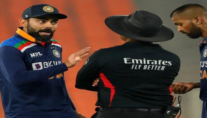 Virat Kohli has angry exchange of words with Jos Buttler during 5th T20I; WATCH
