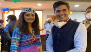 Miss India Delhi Mansi Sehgal joins Aam Aadmi Party; Know everything about her