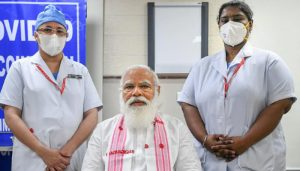 Meet Nurse P Niveda, who gave Corona vaccine dose to PM Modi!