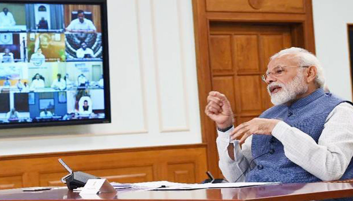 Time for us to become pro-active, PM Modi in virtual meet with CMs