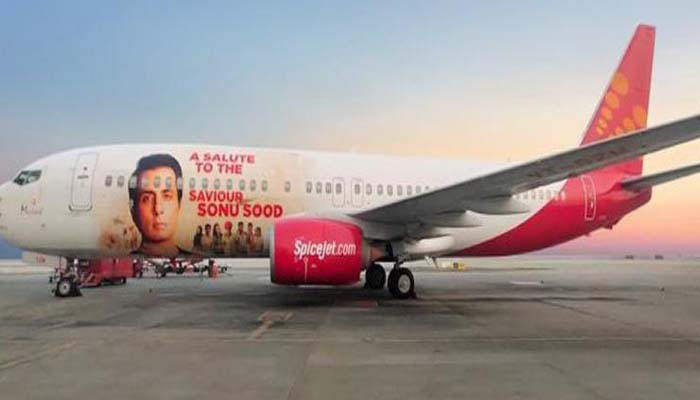 Sonu Sood on getting an aircraft livery: 'I miss my parents more & wish they could see this'