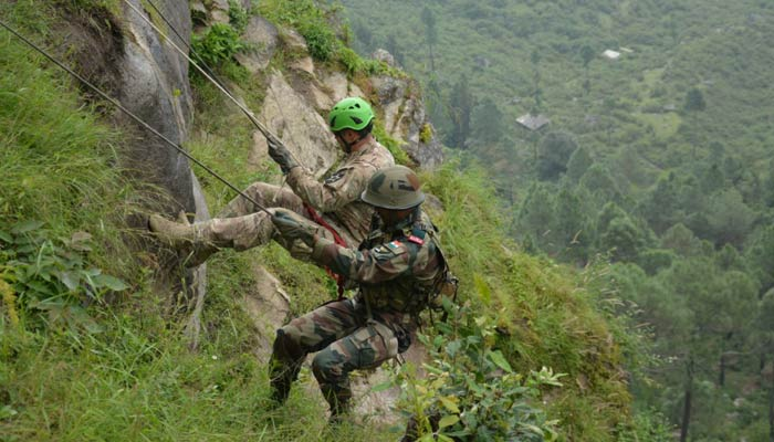 Joint exercise in yudh abhyas by indian and us army