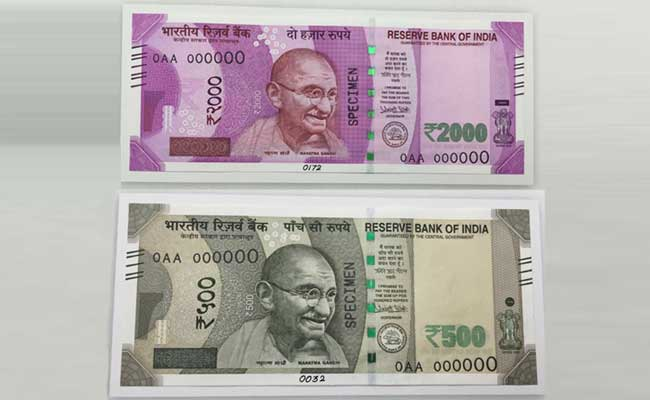 New Pic of Rs 500 and Rs 1000 Note