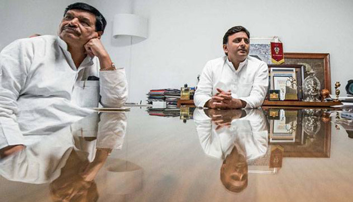 Another round of Akhilesh-Shivpal face-off in the offing in UP ?