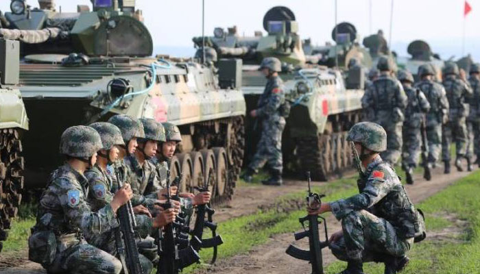 Amid Doklam stand-off, Chinese army holds military drill