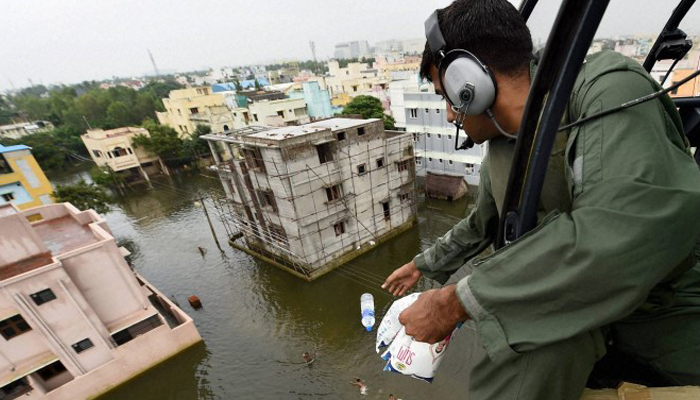 BJP sends relief material to flood-affected villages in UP