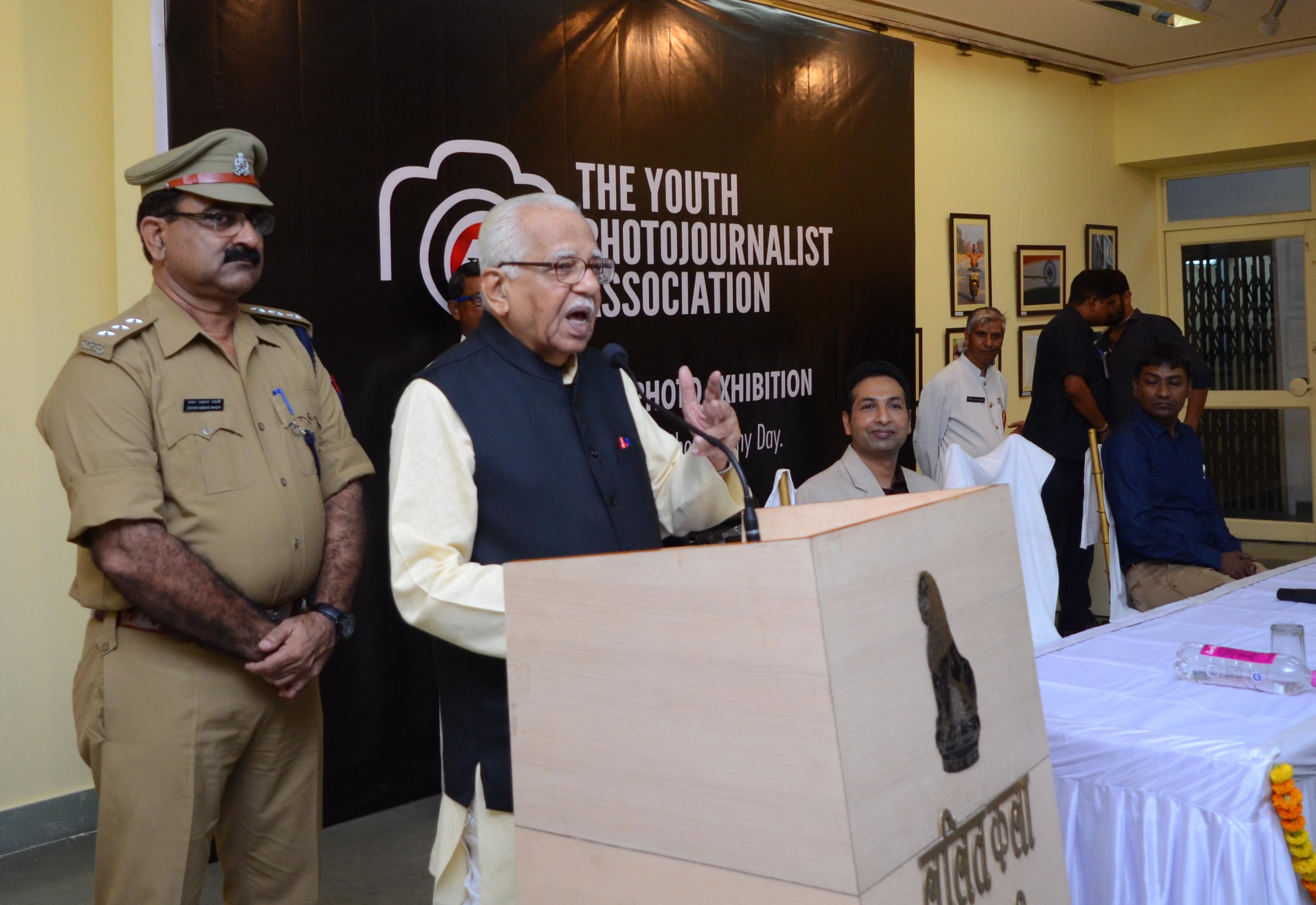 Governor Ram Naik inaugurates TYPA Photo Exhibition in Lucknow
