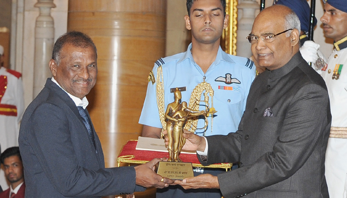 President Kovind confers players with National Sports awards