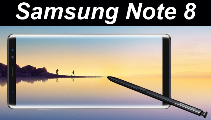 Galaxy Note 8 with dual cameras, Infinity Display launched
