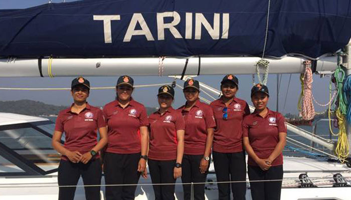 PM Modi lauds navys all-women circumnavigation team
