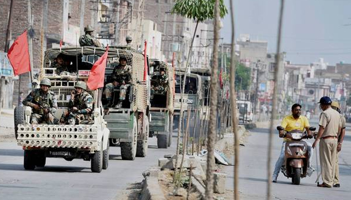 More army columns deployed in Sirsa ahead of Dera chiefs sentencing