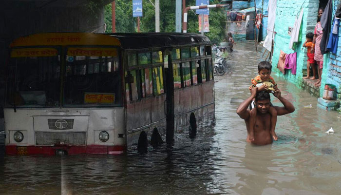 Uttar Pradesh capital inundated after heavy rains