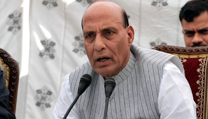 Not refugees, Rajnath Singh calls Rohingyas illegal immigrants