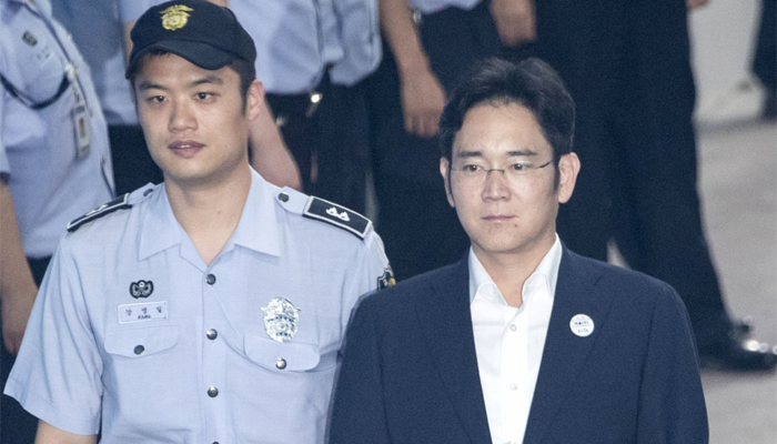 Samsung heir sentenced to five years in prison over bribery charges