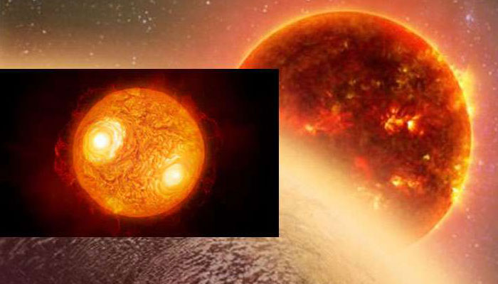 Astronomers capture detailed images of distant star