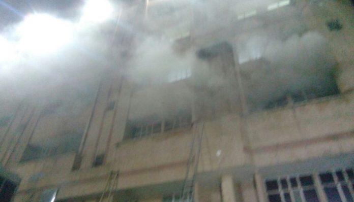 Lucknow   Five officials suspended for KGMU trauma centre fire