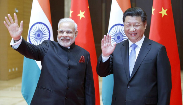 PM Modi holds bilateral meeting with Chinese President Xi Jinping