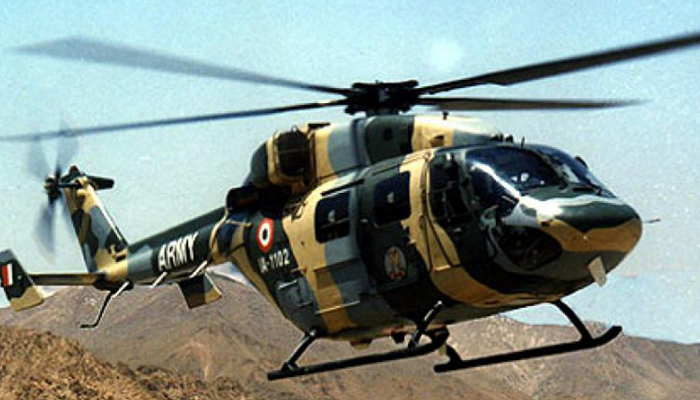 Army ALH with corps commander aboard crashes in Ladakh