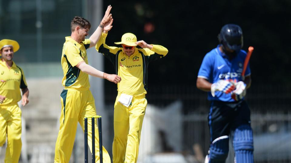 Australia thumps India BPXI by 103 runs in warm-up game