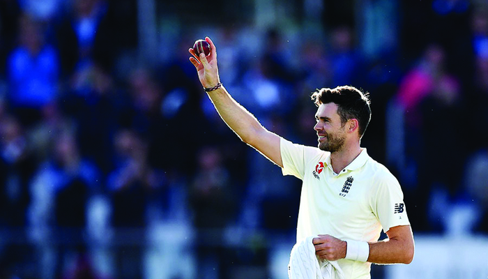 James Anderson becomes sixth bowler in Tests to take 500 wickets