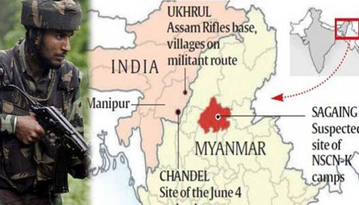 Indian Army conducts counter terror operation at Myanmar border